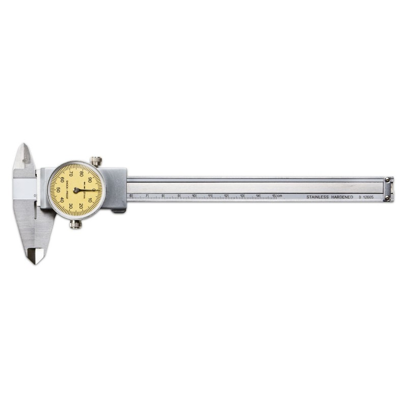 Työntömitta mittakellolla 150mm