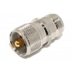 N-uros - UHF-naaras adapteri