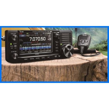 Icom IC-705 Plus 5 MHz  10 W SDR-transceiver 1,8 - 430 MHz
