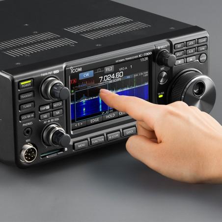 Icom IC-7300 HF+50+70 MHz PLUS 5 MHz 100 W SDR-transceiver